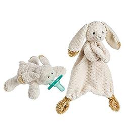 Mary Meyer Oatmeal Bunny WubbaNub Infant Pacifier and Lovey