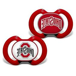 Ohio State Buckeyes Pacifiers 2 Pack Set Infant Baby Fanatic