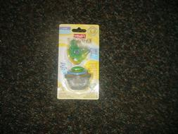 ORTHO PRO PLAYTEX SILICONE PACIFIER NIP W/ CASE 6M +