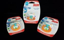 NUK Orthodontic Newborn Pacifier NEW Sealed 0-6 months Silic