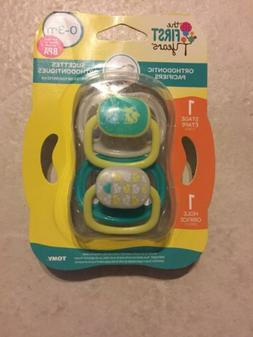 The First Years Orthodontic Pacifier, 0-3 Months new free sh