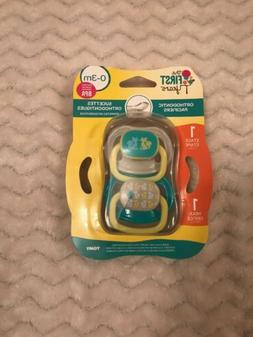 The First Years Orthodontic Pacifier, 0-3 Months, Stage 1 EA