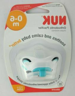 NUK Orthodontic Pacifier 0-6 months Silicone Panda