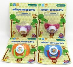 Baby Years Orthodontic Pacifier Soft Silicone BPA Free PHTHA