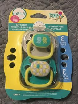 The First Years Orthodontic Pacifier Stage 3  Owl Design - 2
