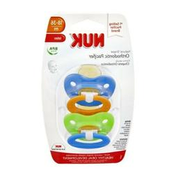 NUK Orthodontic Pacifiers 18-36 months - BPA Free - FREE SHI