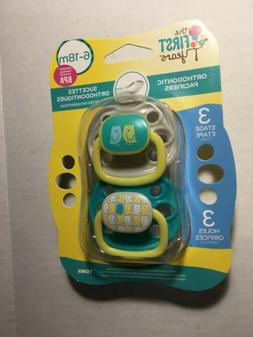 The First Years Orthodontic Pacifiers 6-18 Months Stage 3 1