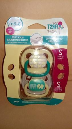 The First Years Orthodontic Pacifiers Stage 2 3-6 Months BPA