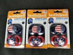 BooginHead Orthodontic Silicone Nipple Pacifiers 2 c.t. Pack