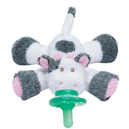 Nookums Paci-Plushies Cow Buddies- Pacifier Holder