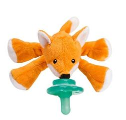 Nookums Paci-Plushies Shakies Freckles Fox rattle pacifier h
