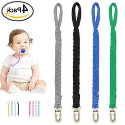 Pacifier Clip for Boys and Girls, Baby Universal Pacifier Ho
