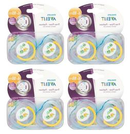 Philips Avent Pacifier 6 - 18 Month Free Flow Turtles Design