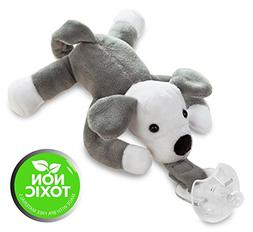 Baby Pacifier – Made from Hospital Grade Material Puppy Ho