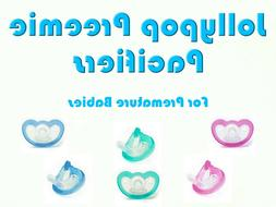 JollyPop Pacifier Preemie Pick Color &/or Scent Baby Soothie