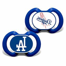 Baby Fanatic Pacifier Set, MLB Los Angeles Dodgers