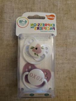 Ulubulu Pacifiers 6-18 months - Poppy and XOXO - Brand New &