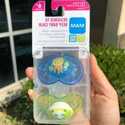 MAM Pacifiers, Baby 6+ Months, Best For Breastfed Babies, An