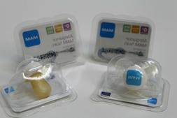 MAM Pacifiers for Newborn Natural Latex Nipple BPA Free LOT
