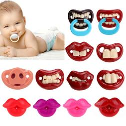 Pacifiers for Newborns Baby Silicone Pacifier Dummy Nipple T