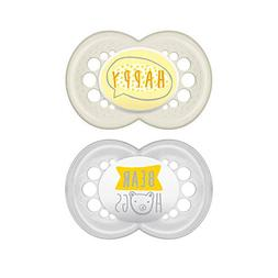MAM Pacifiers, Baby Pacifier 6+ Months, Best Pacifier for Br