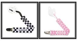 BooginHead PaciGrip Pacifier Clip and Pacifier Holder w/ Uni