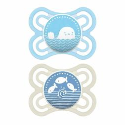 MAM Perfect Pacifiers, Baby Pacifiers 0-6 Months (2 pack, 1