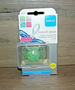 MAM Perfect Silicone Pacifier Green, 0-6 Months BPA free *BR