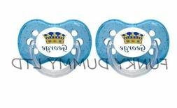 PERSONALISED DUMMY PACIFIER SOOTHER, *TWIN PACK*  AVENT, MAM
