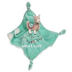 personalized lily llama pink teal