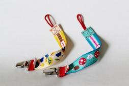 Ulubulu Personalized Pacifier Clip Bundle Happy Cappy and Co