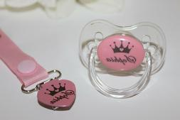 Personalized Pacifier, AVENT Style Nipple, Custom Pacifier,