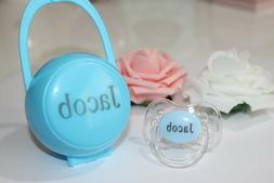 Personalized Pacifier, AVENT style teat available, Custom Pa