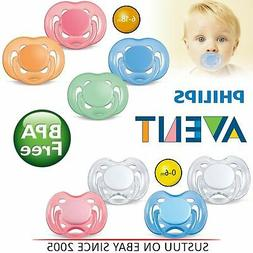Philips Avent Freeflow Orthodontic Dummy Pacifier Baby Silic