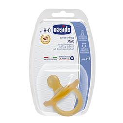 CHICCO Physio Orthodontic Latex Soft Baby Soother in Natural