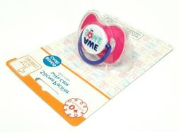 PINK SWIGGLES AWESOME SILICONE PACIFIER BINKY 0+ MONTHS BPA