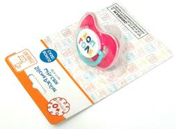 PINK SWIGGLES LOVE YOU SILICONE PACIFIER BINKY 0+ MONTHS BPA
