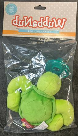 Infant Plush Pacifier Turtle - Exclusive limited edition Wub