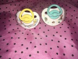 Precious moments pacifiers 0-6 months unisex bundle Silicone