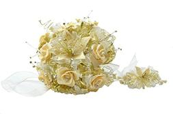 ICE WASHINGTON home series Quinceanera Bouquet-Ramo De Quinc