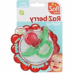 RaZbaby RaZ-Berry Silicone Teether 3+ mths EACH