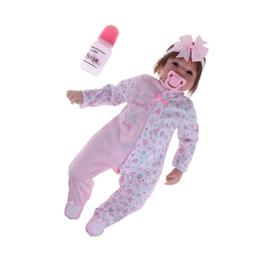 Reborn American Baby Doll Newborn Infant Doll With Pacifier