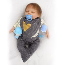 Reborn American Baby Doll Newborn Toddler Doll With Pacifier