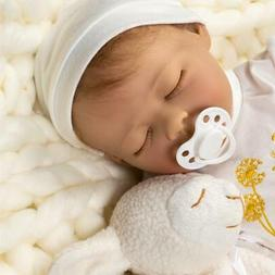 Paradise Galleries Reborn Baby Doll With Magnetic Pacifier,