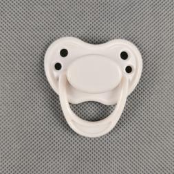 Reborn Baby Dummy White Magnetic Pacifier For Dolls Internal