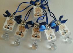 Royal Baby Pacifier favor Baby shower, birthday 36pcs keepsa