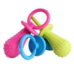 new rubber pacifier for pet toys dog