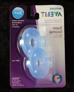 Philips Avent Scf192/04 3 Months & Up Soothie Pacifier 2 Cou
