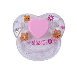 PURSUEBABY 1Pcs/Set Handmade I Cradle Magnetic Pacifier for