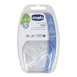 CHICCO Silicon Physio Soft Soother Baby Dummy 6-12m